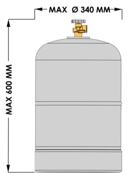 Podłączyć zbiornik na propan grill weber